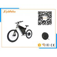 Quality 1000w Stealth Electric Mountain Bike Full Suspension 120kgs Loading 50-60km/H Speed for sale
