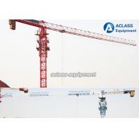Buy cheap Durable 8T Top Flat Type Topless Tower Crane With 45m Working Height from wholesalers
