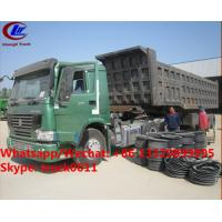 Wholesale Factory sale best price CLW brand 36m3 dump tipper trailer, HOT SALE! high quality and good price dump tipper trailer from china suppliers