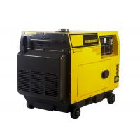 Wholesale 5KW AC Single Phase Power Small Portable Diesel Generator Electric Start from china suppliers