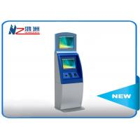 Wholesale Floor standing ticket vending machine with cash payment all in one kiosk from china suppliers