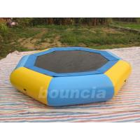Wholesale Customized 0.9mm PVC Inflatable Floating Trampoline For Kids Games from china suppliers