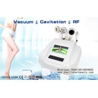 Wholesale RF Vacuum Slimming Machine For Cellulite Reduction / Mini Ultrasonic Cavitation Device from china suppliers