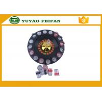 "Wholesale 32"" Roulette Wheel Casino Mini Lucky Roulette Wheel Poker Chips Sets With 16pcs Cups from china suppliers"