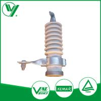 Wholesale 9KV White Color Gapless Lightning Protector With Porcelain Housed from china suppliers