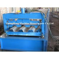 Wholesale Building Metal Floor Deck Roll Forming Machine Manual Decking Forming Machinery from china suppliers