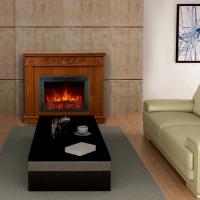 """Wholesale Electric Fireplace Heater EF462 insert Fireboxs 29"""" Stoves log burning Flame remote control mantel chimenea room heater from china suppliers"""