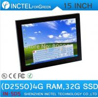 Wholesale 15 Inch Industrial Computer Touch Screen PC with high temperature 5 wire Gtouch industrial embedded 4: 3 6COM LPT from china suppliers