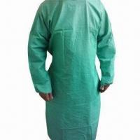 Wholesale Disposable Surgical Gown, Used for Medical and Dust Prevention,Various Colors are Available from china suppliers