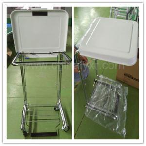 Wholesale Higt Quality Steel Frame Tilt-Lid Hospital Hamper/medical hamper stand/LY-FS from china suppliers