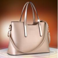 Wholesale Golden Large Ladies Shoulder Bags PU Leather High Fashion Handbags For Women from china suppliers