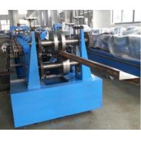 Quality High Productivity 15 - 20m / Min CZ Purlin Roll Forming Machine With PLC Control for sale