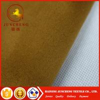 Wholesale 100% polyester suede sofa fabric for home textile wholesale from china suppliers