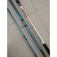 Buy cheap 4.20m 3 section Surf casting Carbon Fishing rods,Trabucco  surf casting rods,carbon fishing rods from wholesalers