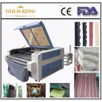 Buy cheap Gold-1410 Textile Fabric Auto-feeding laser cutting machine from wholesalers