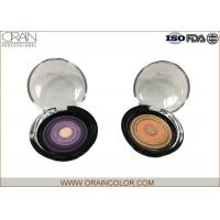 Wholesale Multi - Colored Powder Professional Eyeshadow Palette With Beautiful Round Pattern from china suppliers