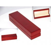 Wholesale Solid maple red painting Wood watch box from china suppliers