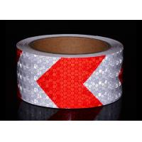 Buy cheap Red White Honeycomb Reflective Tape Conspicuity Safety Caution Tape For Car from wholesalers