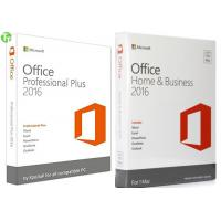 Wholesale Microsoft Office Pro 2016 Office 365 Product Key Card  / OEM / Retail Version from china suppliers