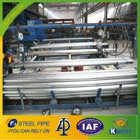 Wholesale hot dipped galvanized steel pipe,BS1387 steel tube,220g/m2 zinc coating steel pipe from china suppliers