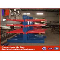 Wholesale Double Side Steel Pipe Storage Cantilever Storage Racks With Powder Coating from china suppliers