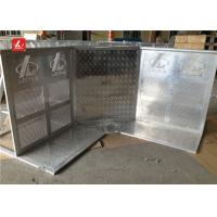 Wholesale Aluminium Strong Concert Crowd Control Barrier With With Door / Corner Lightweight from china suppliers