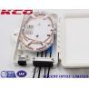 Buy cheap 4port FDB Outdoor Fiber Optic Terminal Distribution Box FTTH 1x4 Splitter Box from wholesalers