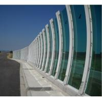 Safety Bent Laminated Glass For Public Highway Sound Proof System