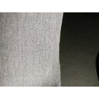 54 Width Leather Car Upholstery Fabric , Faux Leather Fabric For Upholstery