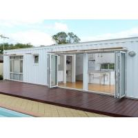 Wholesale White Modified Shipping Containers Temporary Container Housing / Custom Shipping Containers from china suppliers
