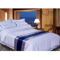 Wholesale Disposable Hotel Bed Linen Oxford Style Technical OEM / ODM Available from china suppliers