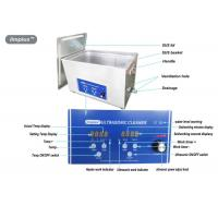 Wholesale Heated Digital Ultrasonic Jewelry Cleaner 15L For Jewelry Cleaning from china suppliers