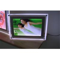 Wholesale Crystal Ultra Slim Acrylic Led Light Box For Decoration Signage Indoor from china suppliers