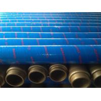Buy cheap Rubber Material Concrete Placement Hose , Concrete Pump Tube With Excellent Wear Resistant from wholesalers