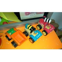 Wholesale Tiger Montessori - educational toys for kids-wooden color car from china suppliers