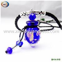 Wholesale Glass essential oil bottle necklace from china suppliers