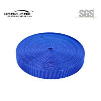 Wholesale Resuable Blue Injection Molded Hook And Pile Tape 75mm OEM / ODM Avaliable from china suppliers