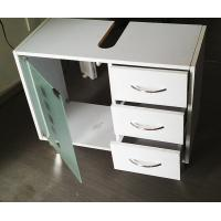 Wholesale Free Standing Vanity Home Bathroom Sink Furniture Cabinet With Glass Door from china suppliers