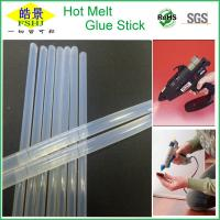 Wholesale White Transparent Hot Melt Glue Stick Silicone Bar For Carton Sealing / Edge Banding from china suppliers