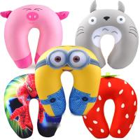 Wholesale Fashion Plush Travel U Shaped Neck Pillow / Travel Neck Support For Nursing from china suppliers