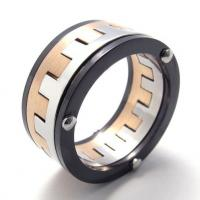 Wholesale Tagor Jewelry Super Fashion 316L Stainless Steel Casting Rings Collection PXR062 from china suppliers