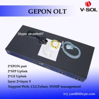 Quality mini GPON OLT 8 PON port OLT GPON FTTH GPON products with free EMS software GPON OLT for sale