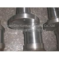 Wholesale 35CrMo / 42CrMo  Diameter 200 - 750mm  Heavy Duty Standard Forged Crankshafts For Truck And Mining Machinery from china suppliers