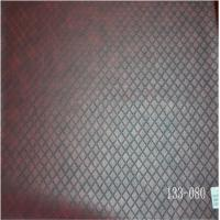 Wholesale embossing pu leather with woven backing for shoes from china suppliers