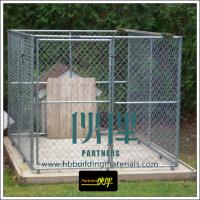 Wholesale Fencing supplies produce chain link fence, used for dog runs, dog kennels,dog cages from china suppliers