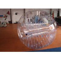 Wholesale 1.5m / 1.8m Commercial PVC / TPU Bubble Soccer Ball With Water Proof  / Fire Resistance from china suppliers