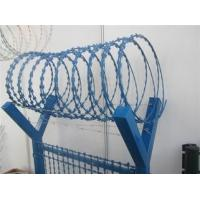 Buy cheap Various BTO CBT Types Razor Barbed Wire With Single / Cross Coil from wholesalers