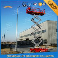 Wholesale Hydraulic Auto Self Propelled Elevating Work Platforms with LED Battery Condition Indicator from china suppliers
