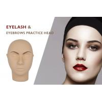 Wholesale Permanent Makeup Eyelash and Eyebrows Practice Head Model With Stand Style Hemicephalous from china suppliers