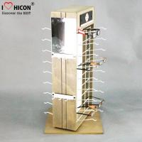 Wholesale Custom 2-Way Sunglasses Display Case , Wooden Sunglasses Display For Retail Shop from china suppliers